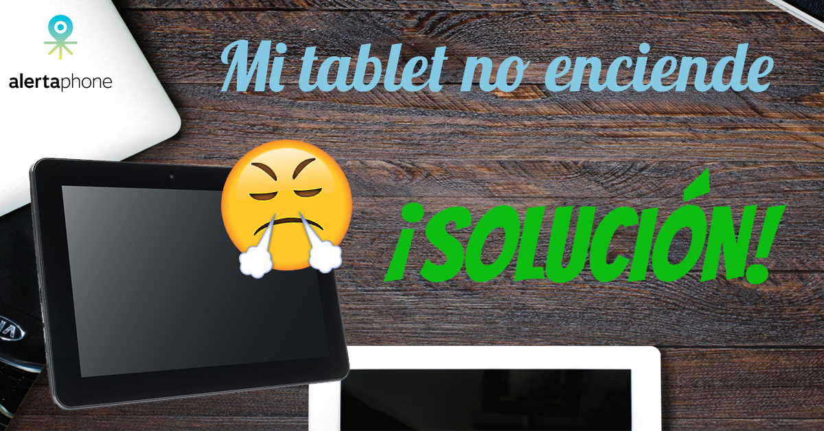 tablet no enciende