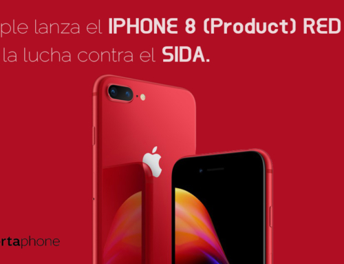 Apple lanza el iPHONE 8 (Product) RED en la lucha contra el SIDA.