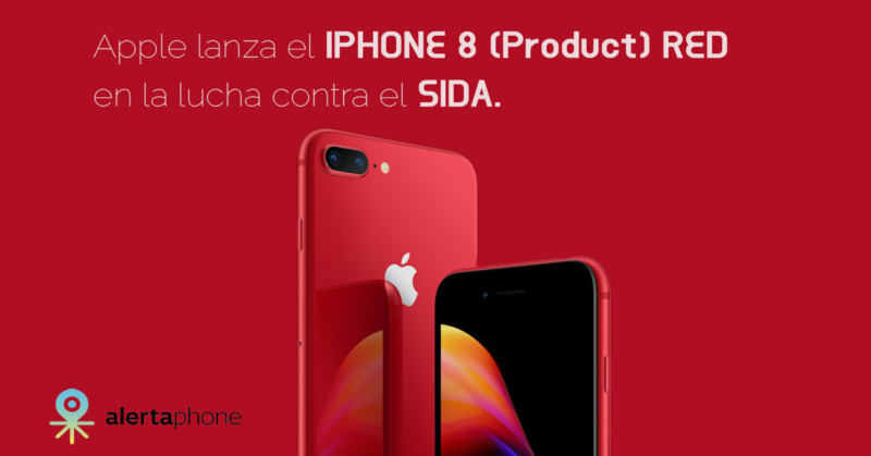 iphone 8 red sida