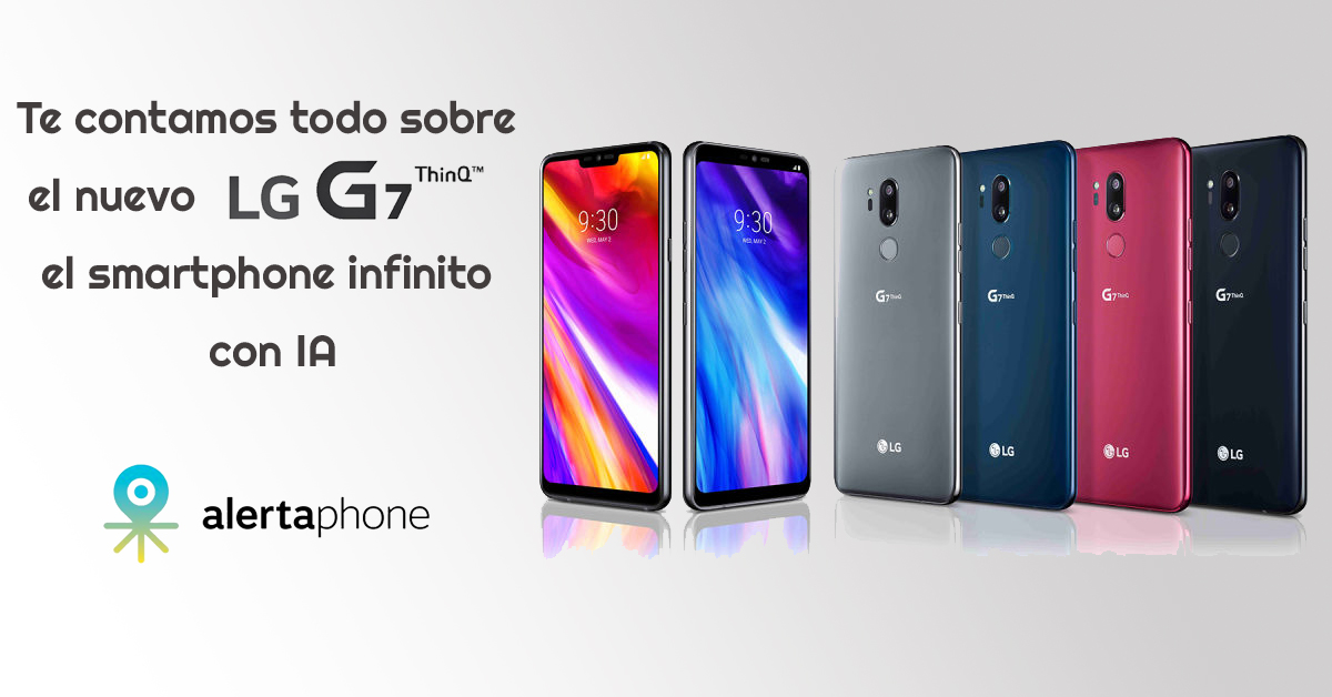 careta LG g7 ThinQ